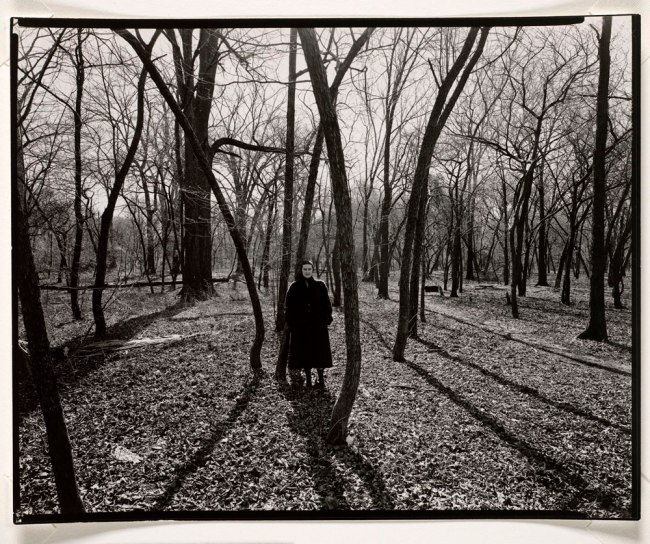 Harry Callahan. 'Eleanor, Chicago' c. 1952