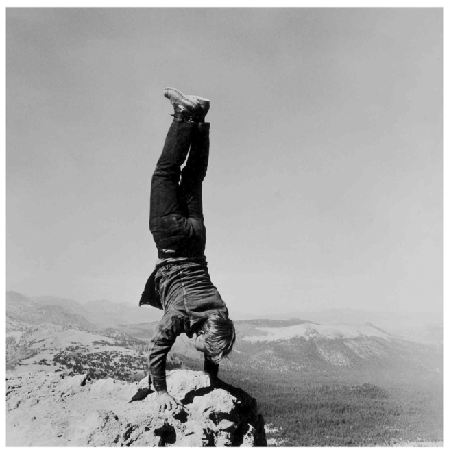 Robert Kinmont 8. 'Natural Handstands' 1969/2009 (detail)