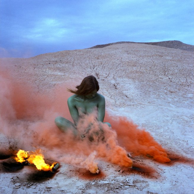 Judy Chicago. 'Atmospheres: Duration Performances' 1967-74