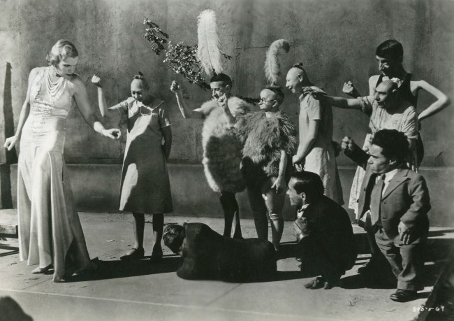 Tod Browning (director) 'Freaks' 1932 Still photograph Courtesy of Praloran Collection, Zurich