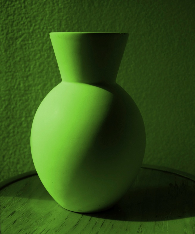 Janina Green. 'Green vase' 1990 reprinted 2012