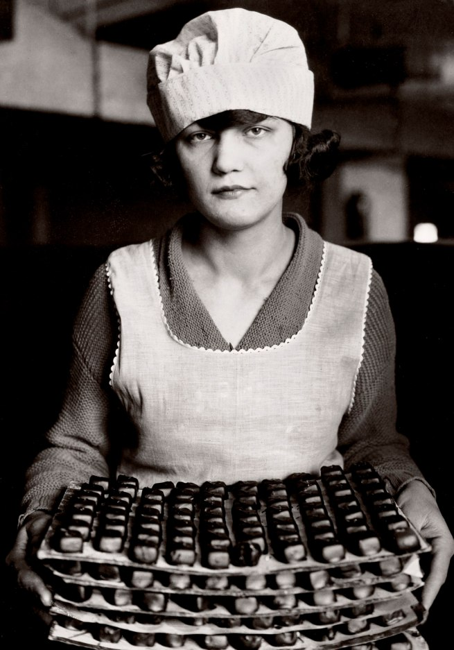 Lewis Hine. 'Candy Worker, New York' 1925