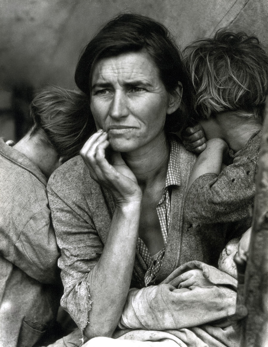 dorethia lange powerful photos Dorothea lange was an iconic american photographer, most famous for capturing the human strife and resilience during the great depression her photographs for the farm security.
