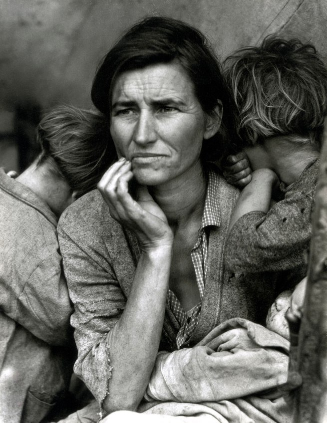 Dorothea Lange. 'Migrant Mother, Nipomo, California' 1936