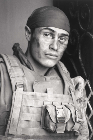 Reynaldo Leal. 'Self portrait after a patrol' 2004-06