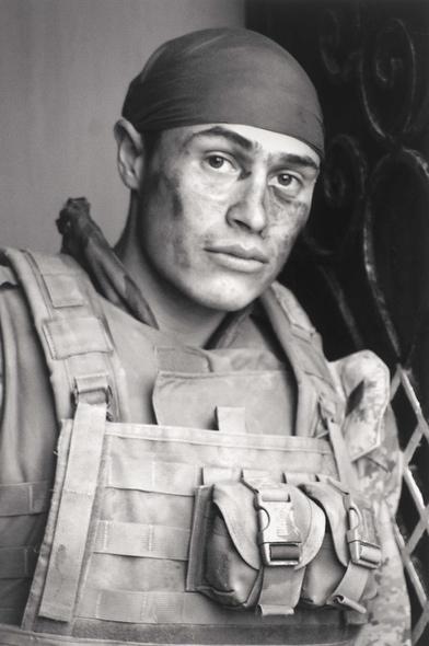 Reynaldo Leal. 'Self portrait after a patrol' 2004-06
