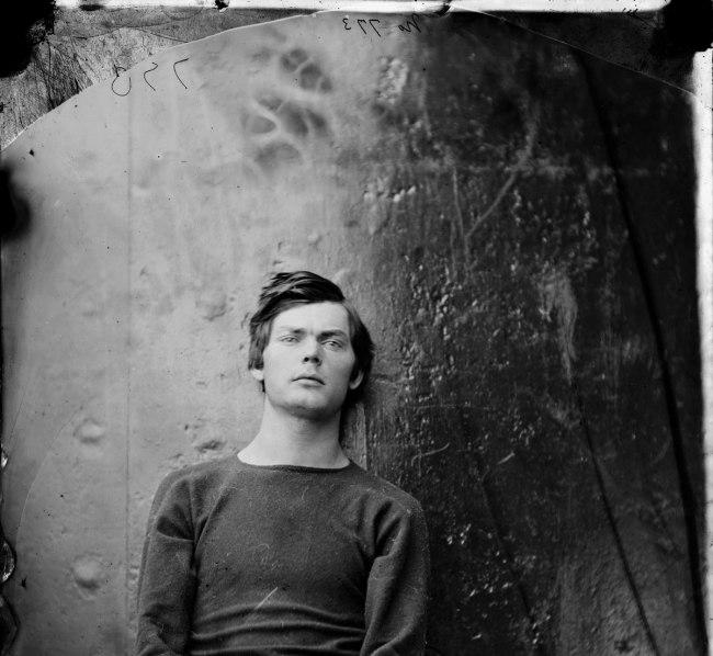 Alexander Gardner. 'Lewis Paine' April 1865 (detail)