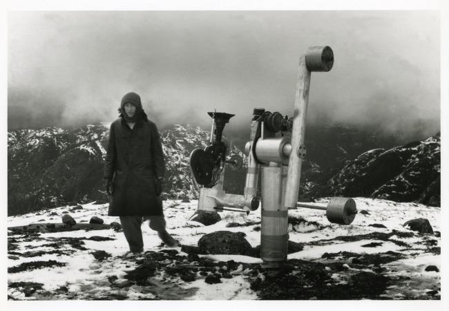 Michael Snow. 'La Région Centrale' 1971