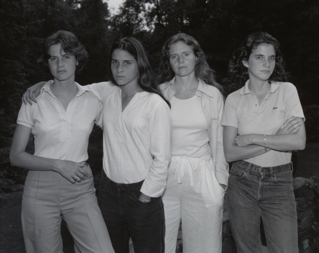 Nicholas Nixon. 'The Brown Sisters' 1975