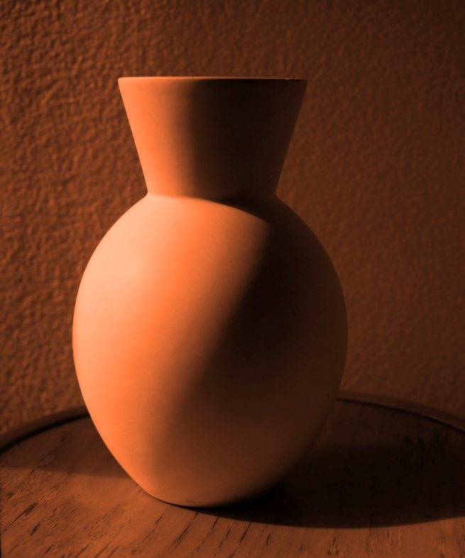 Janina Green. 'Orange vase' 1990 reprinted 2012