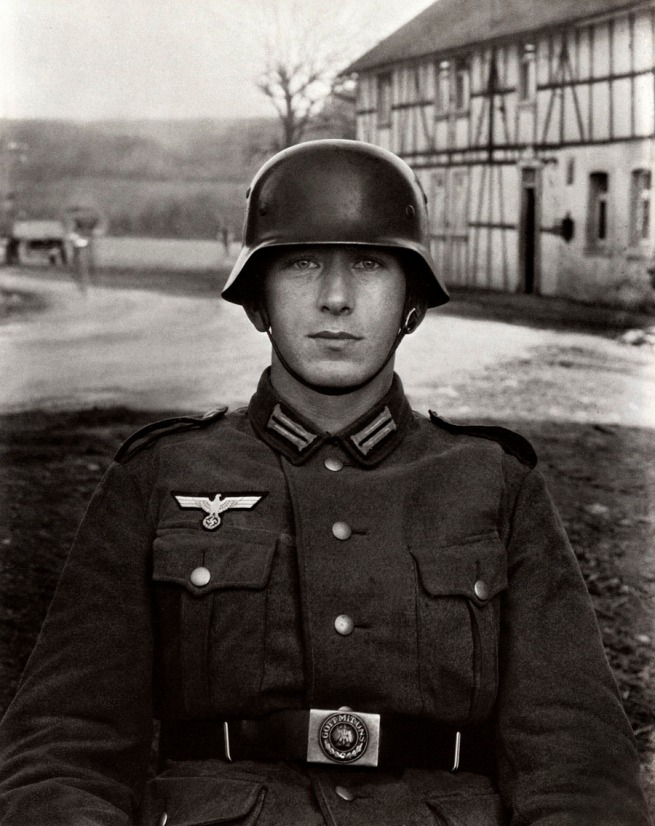 August Sander German, 1876-1964 'Soldier' c. 1940