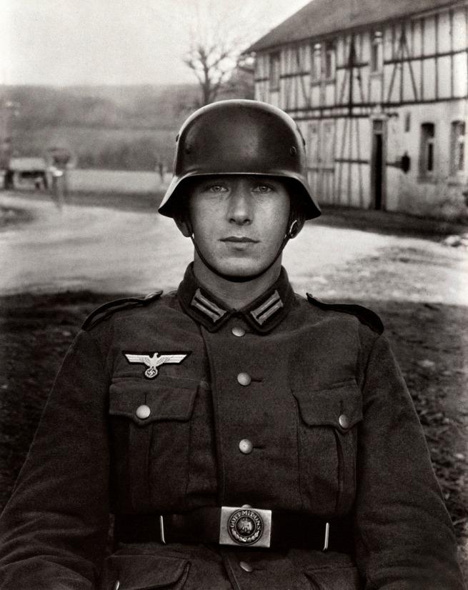 August Sander German, 1876-1964 'Soldier' c. 1940