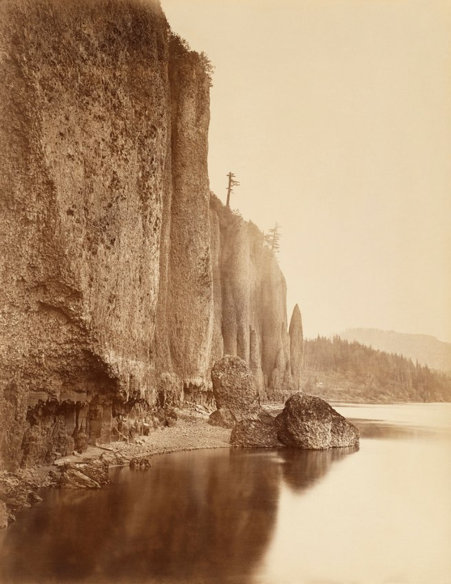 Carleton E. Watkins. 'Cape Horn, Columbia River' 1867