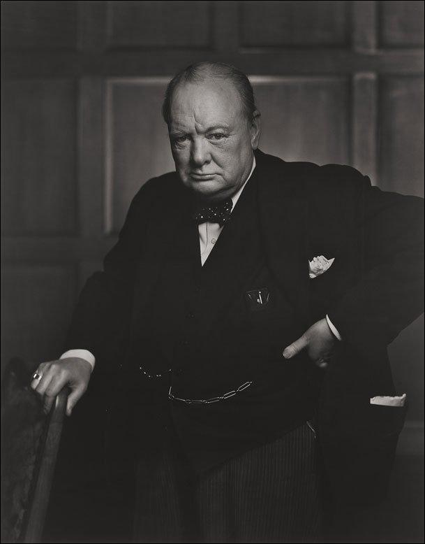 Yousuf Karsh. 'Winston Churchill' 1941