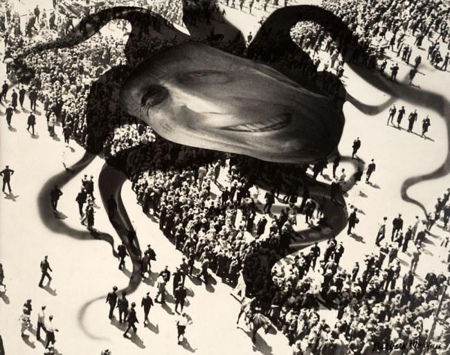 Barbara Morgan. 'Hearst over the People' 1939