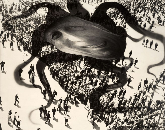 Barbara Morgan. 'Hearst over the People' 1939