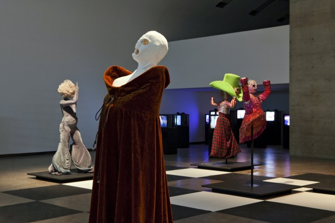 Installation view of 'XTRAVAGANZA. Staging Leigh Bowery', Kunsthalle Wien