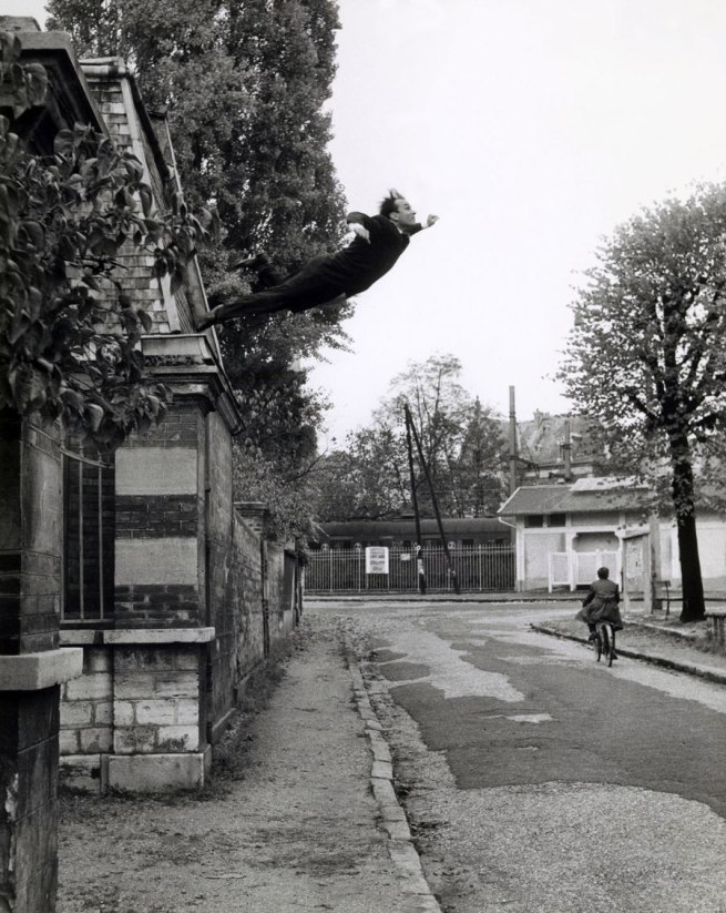 Yves Klein (French, 1928-1962) Photographed by Harry Shunk (German, 1924-2006) and János (Jean) Kender (Hungarian, 1937-2009) 'Leap into the Void' 1960