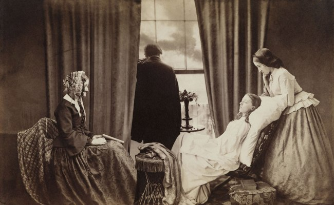 Henry Peach Robinson. 'Fading Away' 1858