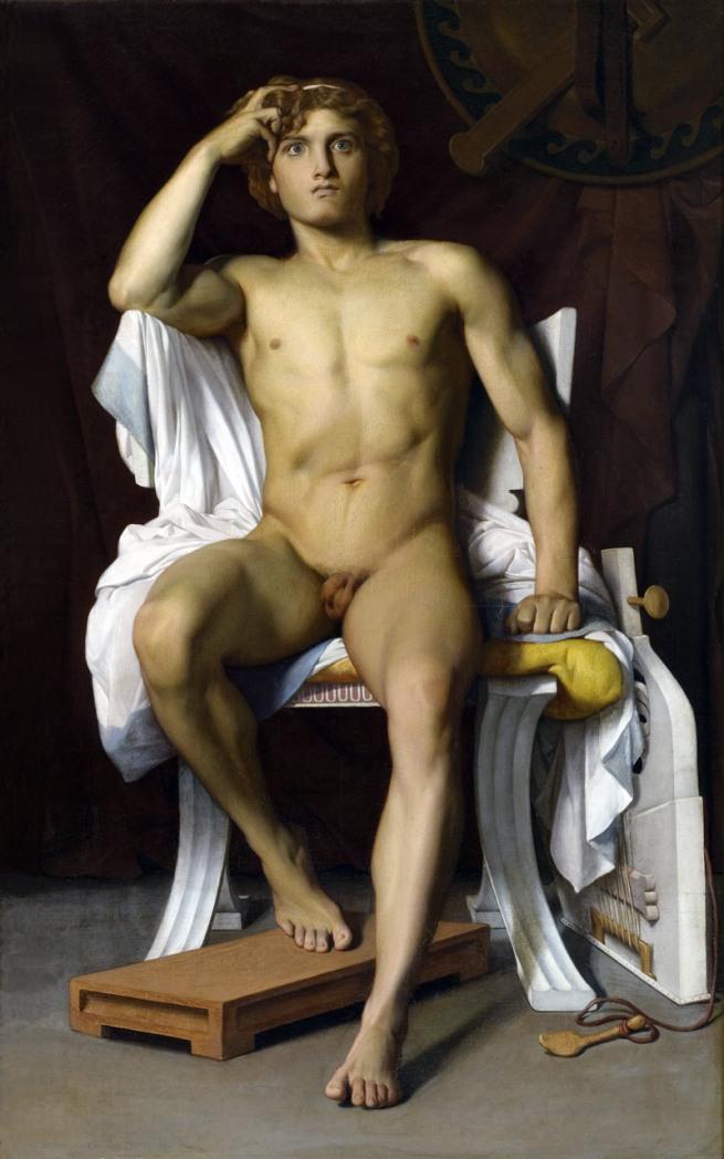 François-Léon Benouville. 'Achills Zorn' 1847
