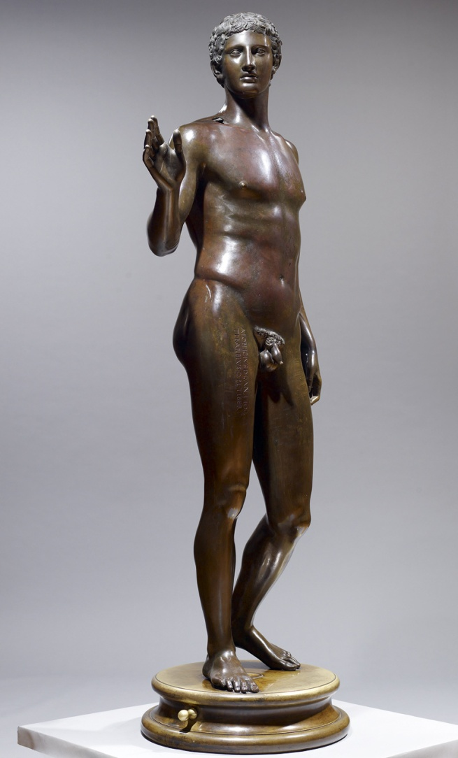 Anonymous maker. 'Anonymous Youth of Magdalensberg' 16th Century casting after Roman Original