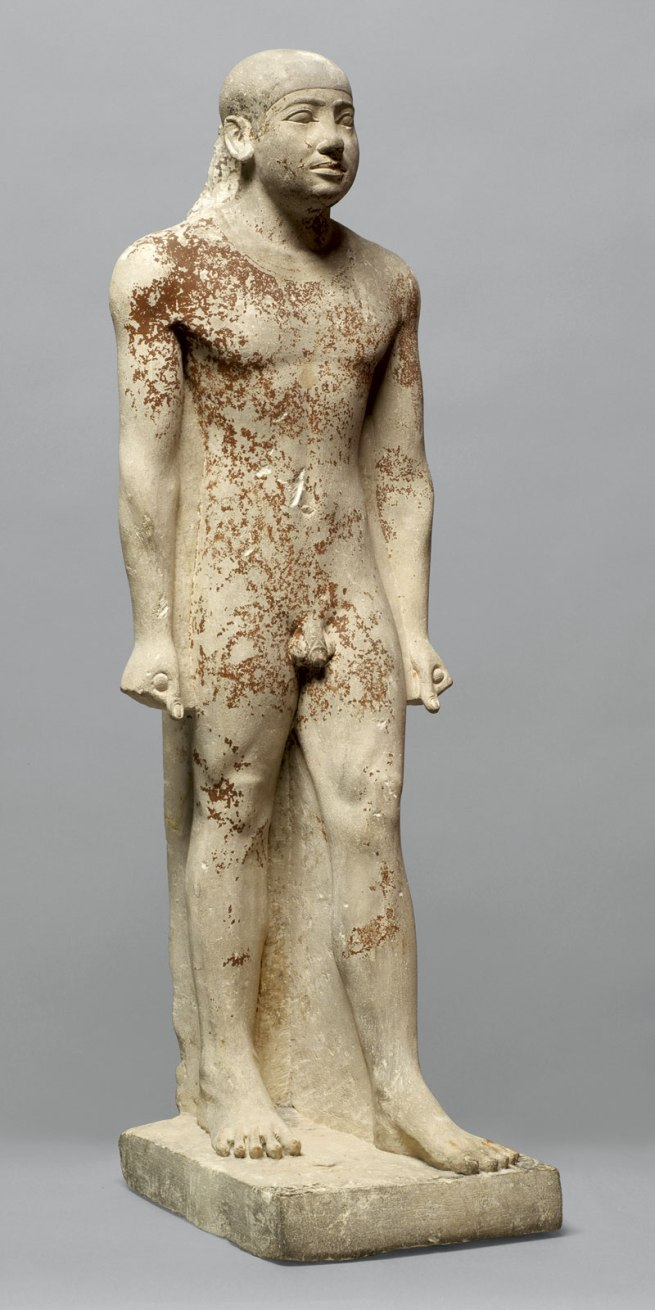 Anon. 'Anonymous standing figure of the court official Snofrunefer Egypt, Old Kingdom, late 5th Dynasty' around 2400 BC