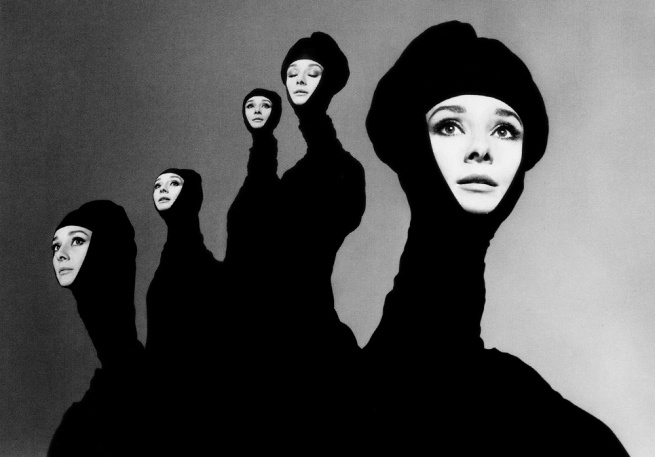 Richard Avedon (American 1923-2004) 'Audrey Hepburn, New York, January 1967' 1967