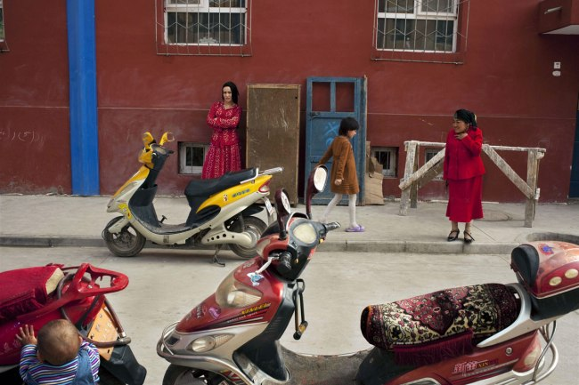 Carolyn Drake. 'New Kashgar. Kashgar, China'  2011