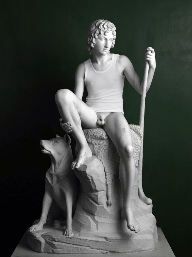 Elmgreen & Dragset. 'Shepherd Boy (Tank Top)' 2009