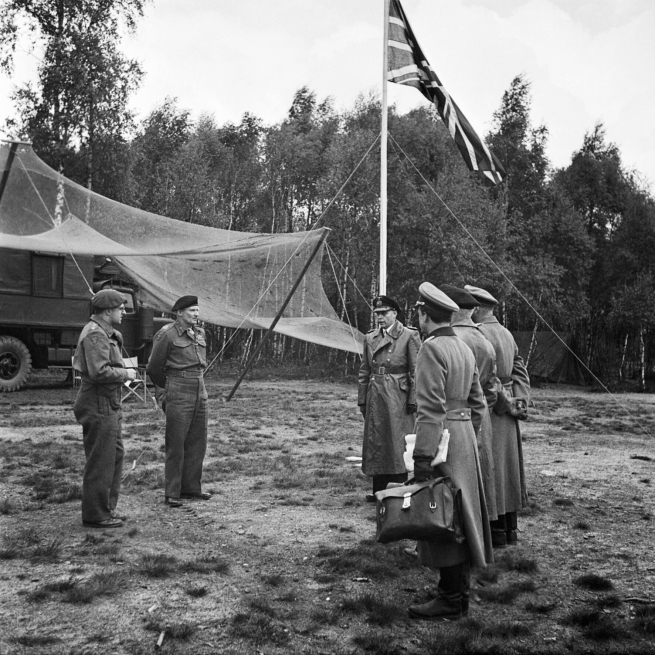 E. G. Malindine. 'German Military Forces Seek Surrender Terms, May 1945'