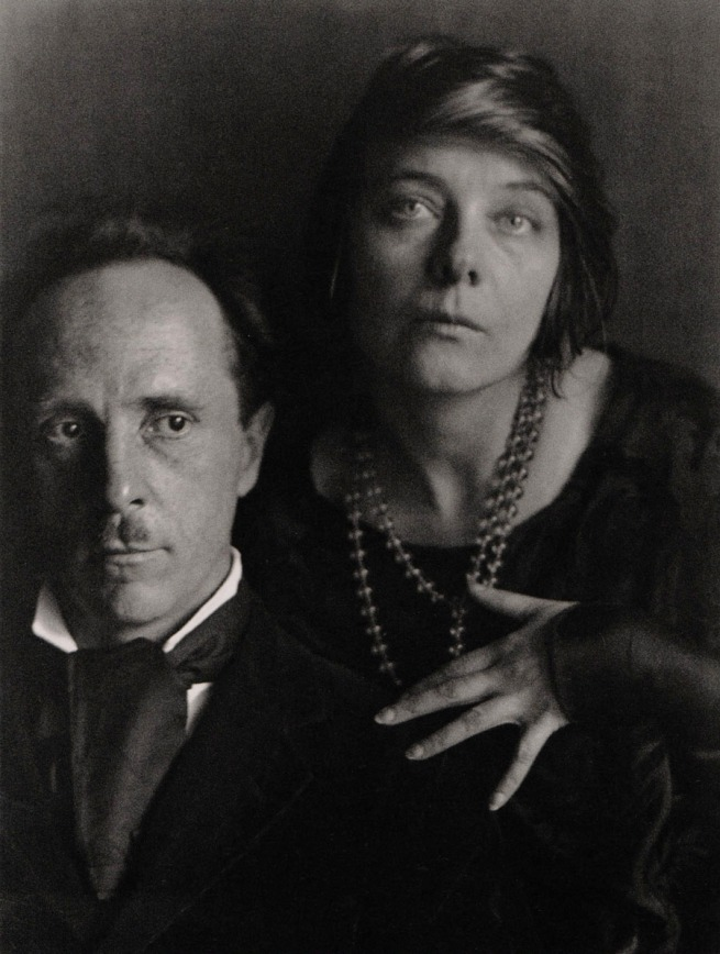 Imogen Cunningham. 'Edward Weston and Margrethe Mather, Photographers I-II' 1922