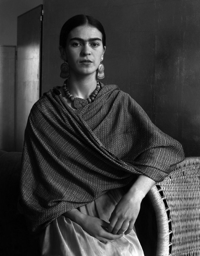 Imogen Cunningham. 'Frida Kahlo Rivera, Painter and Wife of Diego Rivera' 1931