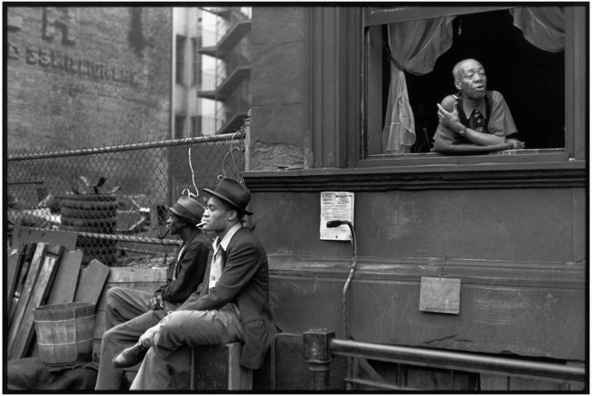 Henri Cartier-Bresson. 'Harlem, New York' 1947
