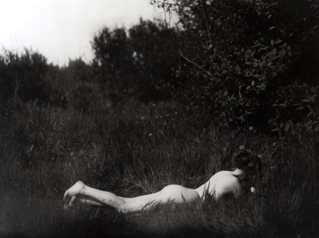 Imogen Cunningham. 'Self-Portrait' 1906