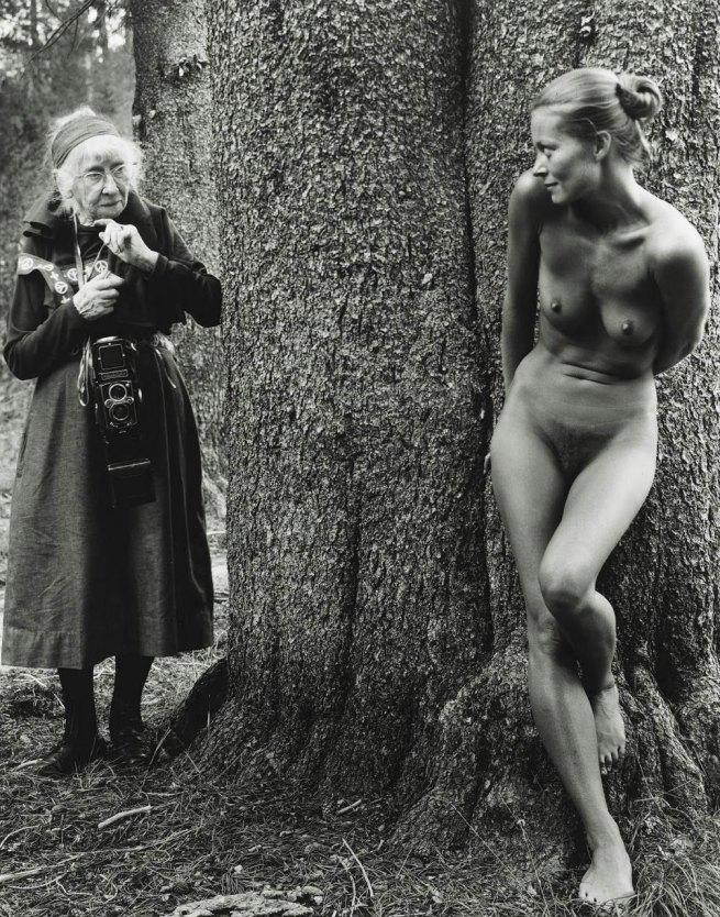 Judy Dater. 'Imogen Cunningham and Twinka Thiebaud' 1974