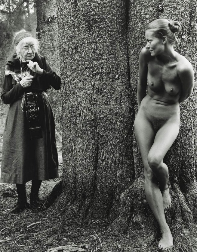 Judy Dater. 'Imogen Cunningham and Twinka Thiebaud' 1974