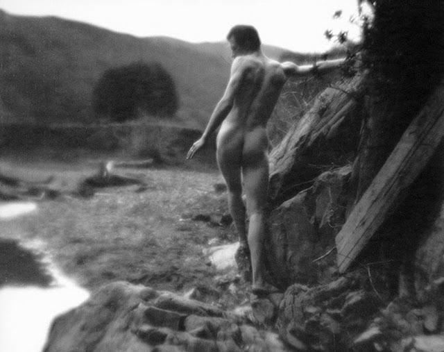 Imogen Cunningham. 'Roi on the Dipsea trail 3' 1918
