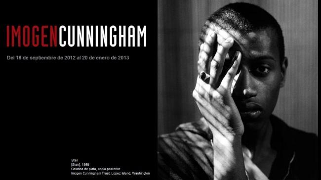 Imogen Cunningham exhibition poster