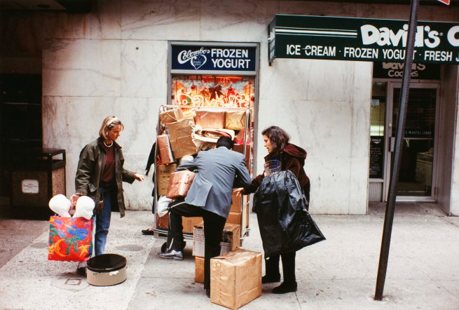 Jeff Mermelstein. 'Untitled (Package Pile Up, New York City)' 1995