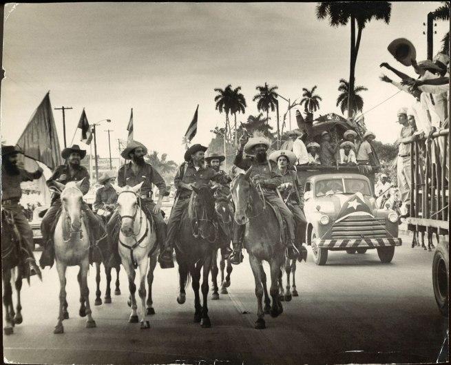 Osvaldo Salas. 'Camilo beim Einzug in Havanna 8.1.1959' 1959