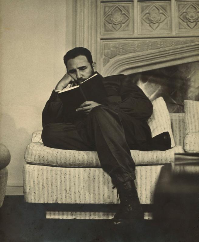 Anonymous photographer. 'Fidel Castro' c. 1970