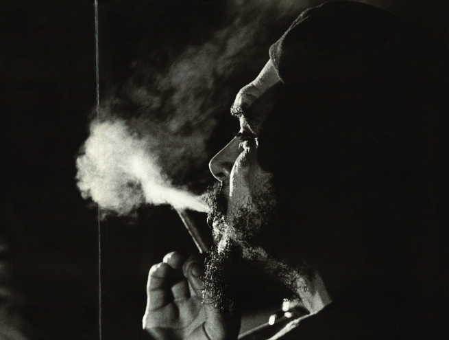 Osvaldo Salas(Cuban, 1914-1992) 'Che fumano' [Che smoking] 1964