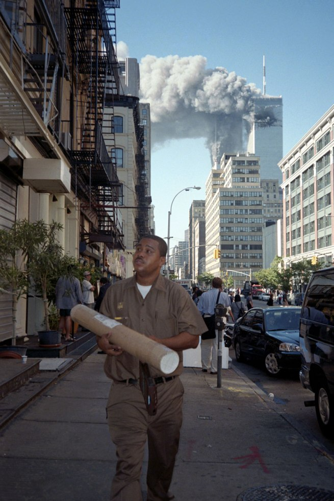 Melanie Einzig. 'September 11th, New York' 2001