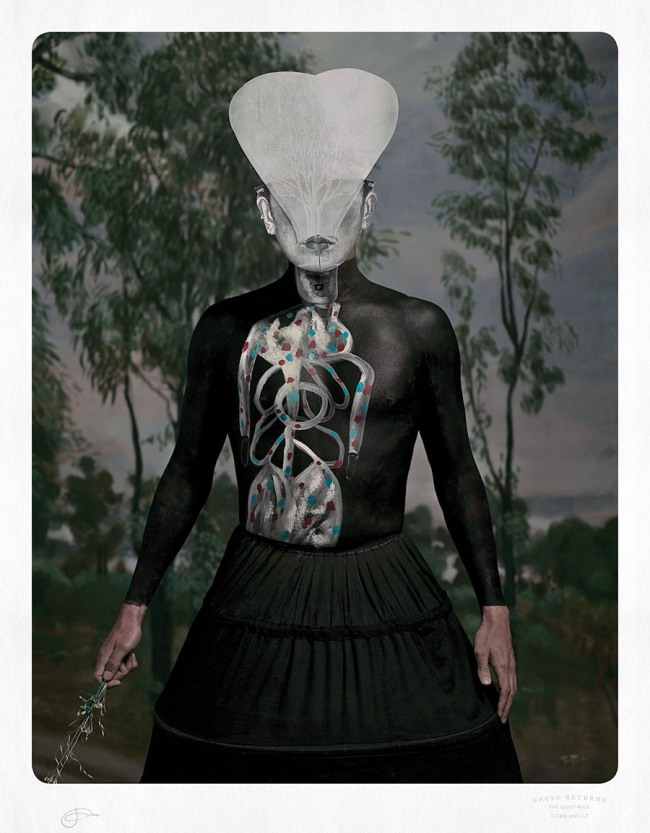 Jacqui Stockdale. 'Negro Returno, Long Gully' 2012