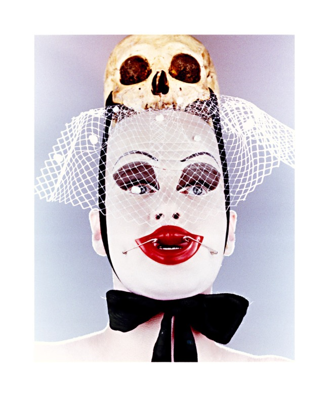 Nick Knight. 'Untitled (Leigh Bowery with Scull)' 1992