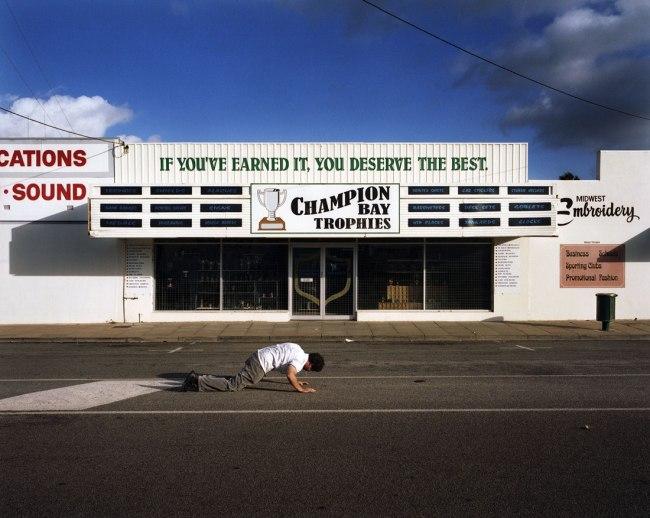 Trent Parke. 'Man Vomiting, Gerald #1' 2006
