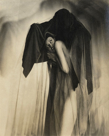 William Mortensen (American, 1897-1965) 'Obsession' c. 1930