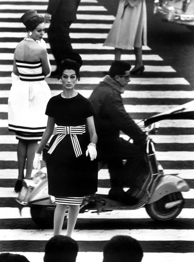 William Klein. 'Piazza di Spagna, Rome' 1960