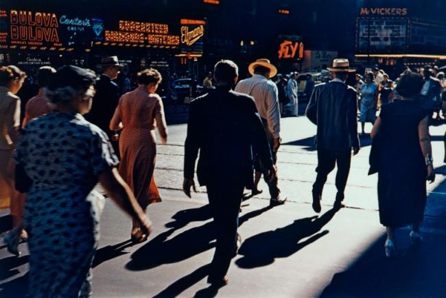 Arthur Siegel (American, 1913-1978) 'State Street' 1949