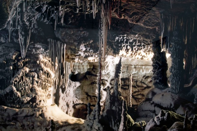 Thomas Demand German 1964- 'Grotte / Grotto' (detail) 2006